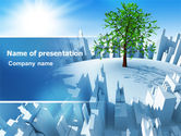 Green: Industrialization and Nature PowerPoint Template #07103