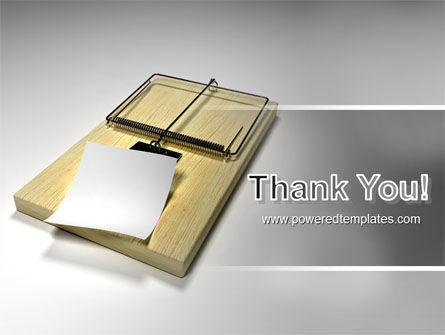 Mouse Trap PowerPoint Template Slide 20