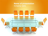 Business: Conference Room PowerPoint Template #07171