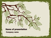 Nature & Environment: Spring Tree Stick PowerPoint Template #07591