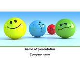 Careers/Industry: Emotions PowerPoint Template #07692