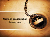 Drinking alcohol: Drain PowerPoint Template #07772