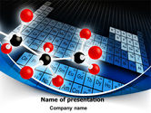 Technology and Science: Periodic Table Of Chemical Elements PowerPoint Template #07959