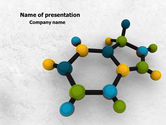 Technology and Science: Molecule PowerPoint Template #07990
