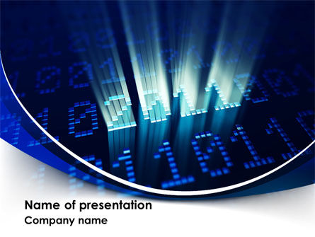 2011 Digits PowerPoint Template