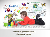 Education & Training: Natural Sciences Education PowerPoint Template #08792