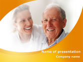 Geriatric+nursing: Aged Spouse PowerPoint Template #09147