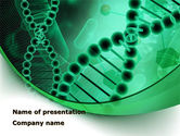 Medical: DNA Study PowerPoint Template #09183