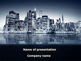 Construction: Chicago Shore PowerPoint Template #09493