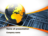 Careers/Industry: Global Pipeline PowerPoint Template #09621
