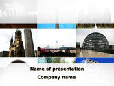 Flags/International: Sights Of Berlin PowerPoint Template #09805