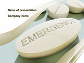 Medical: Emergency Tablet PowerPoint Template #09883