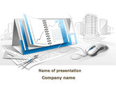Education & Training: Electronic Calendar PowerPoint Template #09903