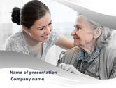Geriatric+nursing: Elderly People Care PowerPoint Template #10042