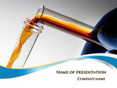 Technology and Science: Labs Testing Tubes PowerPoint Template #10055