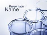 Technology and Science: Lab Ware PowerPoint Template #10070