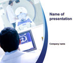Medical: MRI Examination PowerPoint Template #10424