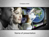 Study+abroad: Future Technology PowerPoint Template #10572