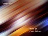 Northern lights: Motion Blur PowerPoint Template #10660