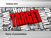 Target+setting: Target Market PowerPoint Template #10687