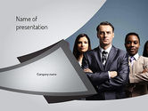 Business: Business People PowerPoint Template #11068