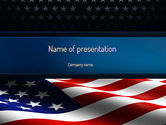 America: America Stand Strong PowerPoint Template #11090
