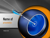 Target+setting: Hit Target PowerPoint Template #11135