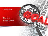 Business Concepts: Business Goals PowerPoint Template #11216