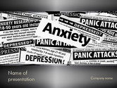 Medical: Mental Health PowerPoint Template #11367
