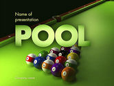Sports: Pool Game PowerPoint Template #11413