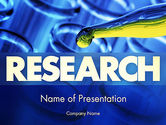 Technology and Science: Chemical Experiment PowerPoint Template #11473