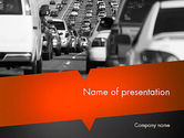 Cars and Transportation: Tailpipe Emissions PowerPoint Template #11483