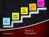 Target+setting: Goal Setting PowerPoint Template #11575