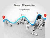 Sports: Run Tempo PowerPoint Template #11622