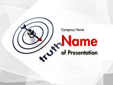 Business Concepts: Truth Compass PowerPoint Template #11652