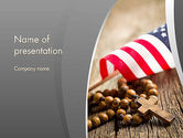 Religious/Spiritual: American Christianity PowerPoint Template #11922