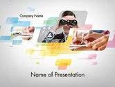 Hawaii+theme: Abstract Business Theme PowerPoint Template #11955