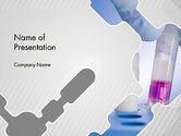 Technology and Science: Analytical Laboratory PowerPoint Template #12406
