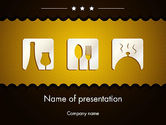 Careers/Industry: Cookbook Icons PowerPoint Template #12555