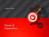 Target+setting: Marketing Concept PowerPoint Template #12884