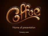 Food & Beverage: Coffee Aroma PowerPoint Template #12989