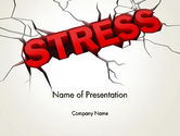 Medical: Heavy Stress PowerPoint Template #13220