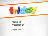 Holiday/Special Occasion: Friday PowerPoint Template #13252