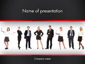 People: Recruit PowerPoint Template #13287