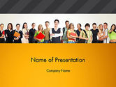 People: Recruitment Candidates PowerPoint Template #13310