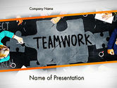 People: Working Together Business People PowerPoint Template #13513