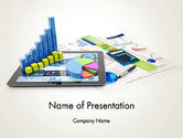 Financial/Accounting: Financial Analysis and Report PowerPoint Template #13677
