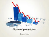 Financial/Accounting: Recession Chart PowerPoint Template #13701