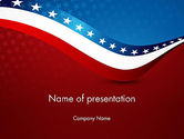 America: USA Patriotic Themed PowerPoint Template #13784