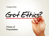 Business: Ethical Code PowerPoint Template #13823